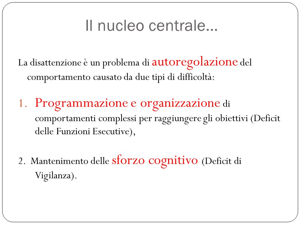 Quali sono gli obiettivi di un intervento efficace.