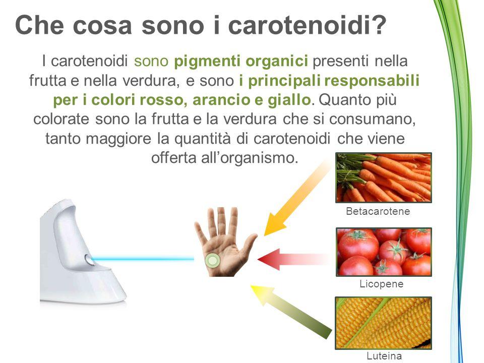 I carotenoidi vengono assorbiti attraverso il grasso dell'alimentazione.