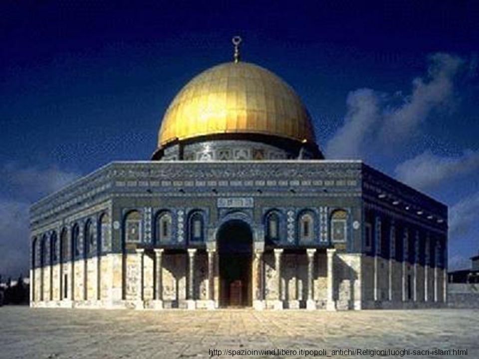 La Cupola della Roccia è il piu antico monumento esistente nell architettura islamica, fu costruita nell epoca degli Omayyadi (661 - 750).