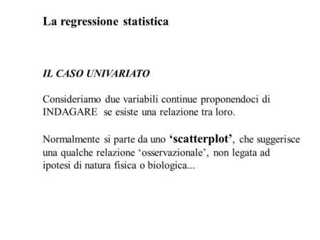 Pin La Relazione Tra Due Variabili Misurate Si Distingue Rispetto Alla ...