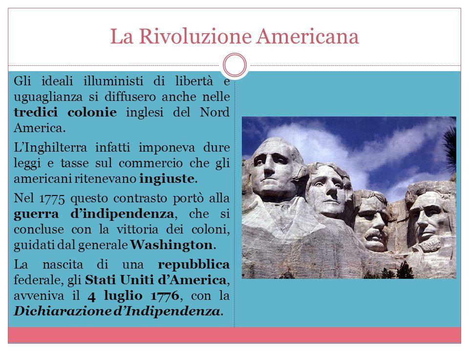 La Rivoluzione Francese Nel 1789 la Francia fu colpita da una grave crisi economica e il re Luigi XVI convocò gli Stati Generali.