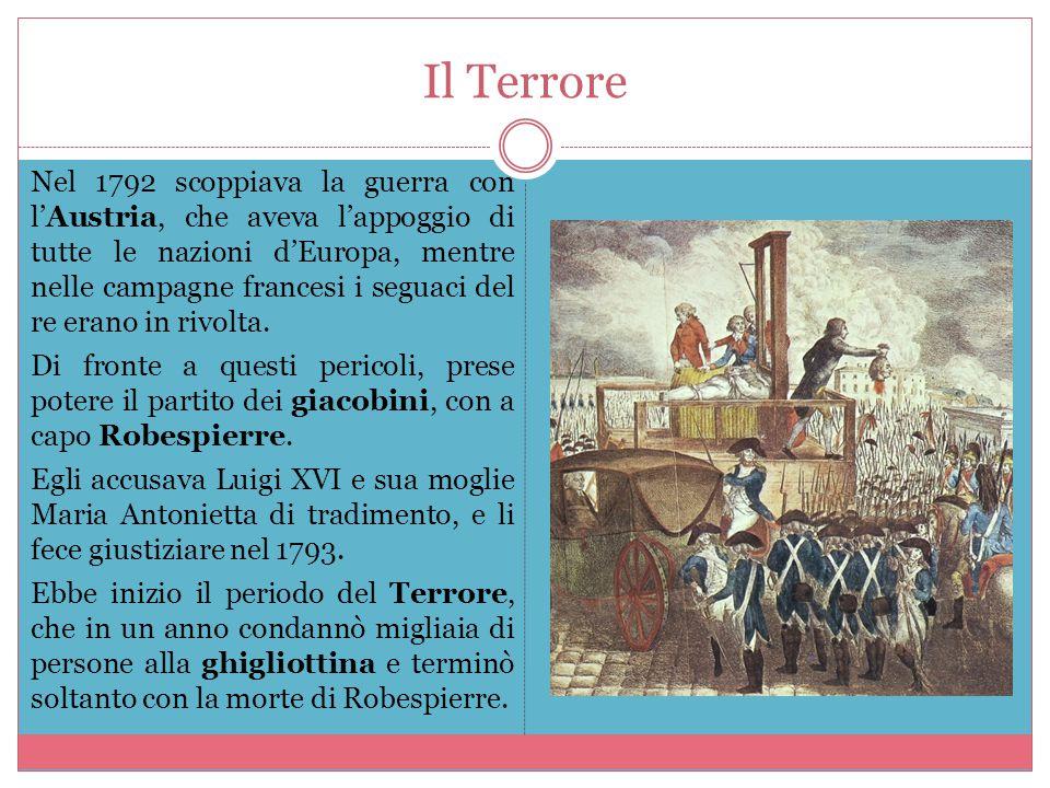 Napoleone Bonaparte Durante le guerra si mise in luce il talento militare di un giovane generale, Napoleone Bonaparte.