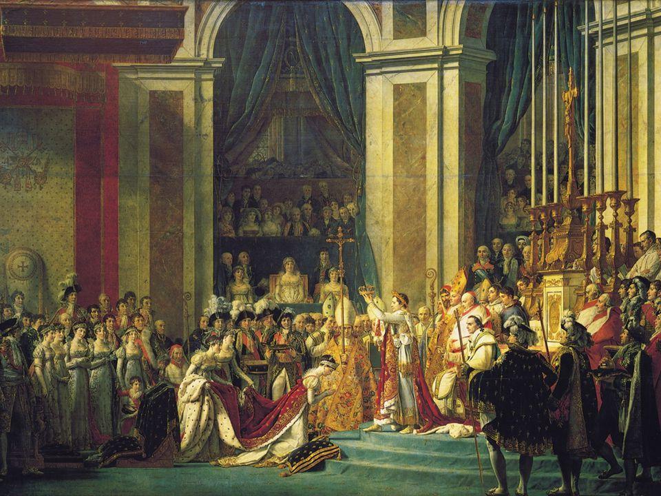 La caduta di Napoleone Nel 1812, quando lo Zar Alessandro I si rifiutò di rispettare il blocco, Napoleone invase la Russia, ma l'esercito francese fu costretto ad una disastrosa ritirata in mezzo al gelo.