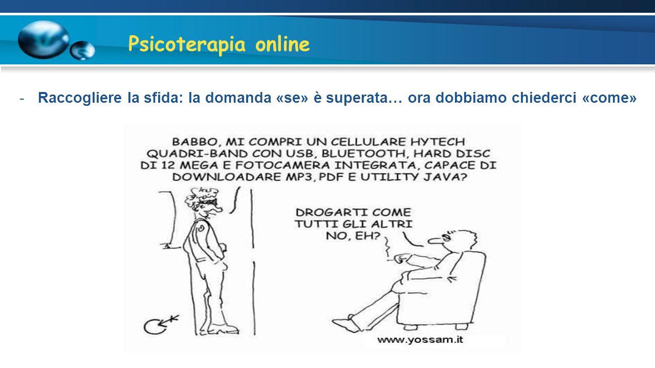 Psicoterapia online Legislazione italiana In base alla deliberazione n.