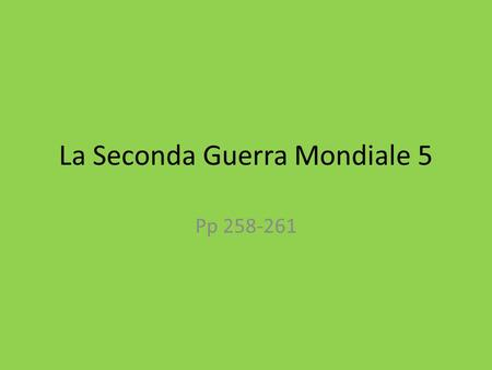 La Seconda Guerra Mondiale 5 Pp 258-261. Lo Sbarco in Normandia https://www.youtube.com/watch?v=uPU4p7UQOtU.