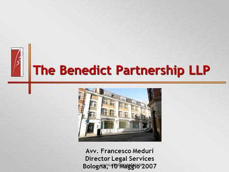 The Benedict Partnership LLP