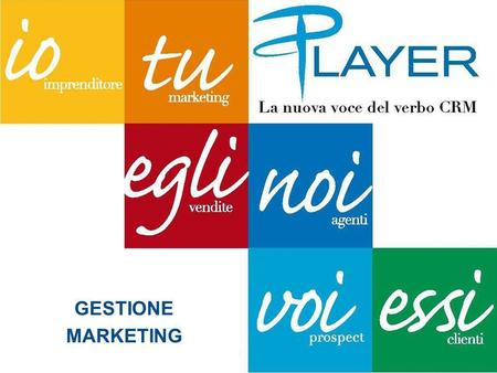 GESTIONE MARKETING. DEFINIZIONI Il direct marketing o marketing diretto è una tecnica di marketing attraverso la quale le aziende comunicano direttamente.