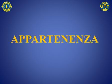 APPARTENENZA.