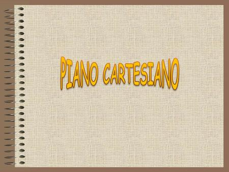 PIANO CARTESIANO.