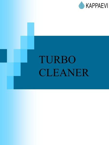 TURBO CLEANER.