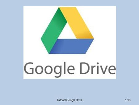 Tutorial Google Drive.