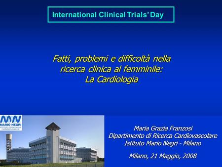 International Clinical Trials' Day