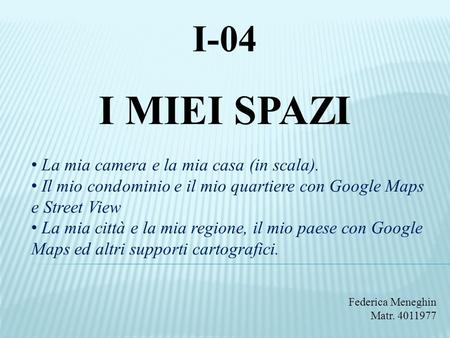 Italiano l2 lezione 5 conoscenze ppt video online scaricare for Voglio progettare la mia casa online