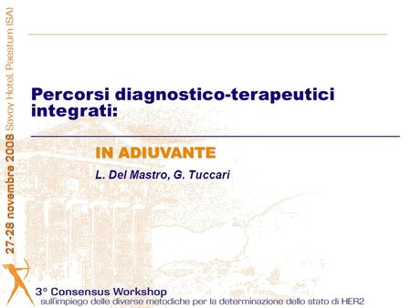 Percorsi diagnostico-terapeutici integrati: