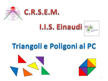 Triangoli e Poligoni al PC