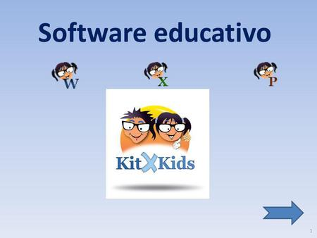 Software educativo.