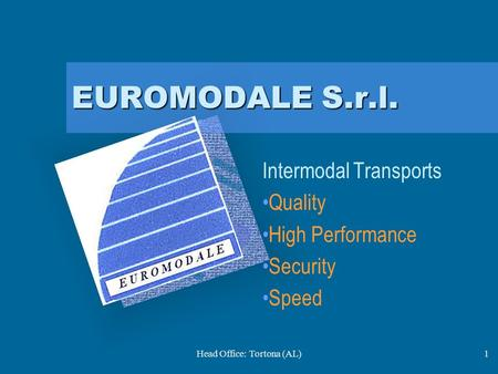 Intermodal Transports Quality High Performance Security Speed