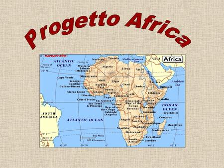 Progetto Africa.