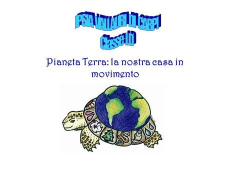 Pianeta Terra: la nostra casa in movimento