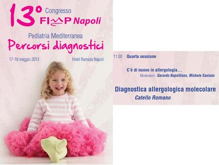 Diagnosi Sintomo Il percorso diagnostico in allergologia.