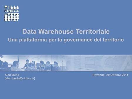 Data Warehouse Territoriale