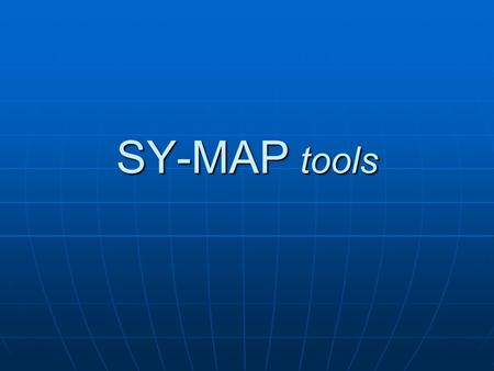 SY-MAP tools. Con SY-MAP tools è più semplice ed intuitivo il collegamento di Bentley MicroStation e Bentley MAP con i database Con SY-MAP tools è più