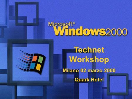 Windows server 2003 integrazione di dns in strutture for Quark hotel milano