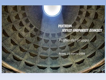 PANTHEON SERVIZI CORPORATE ASSOCIATI