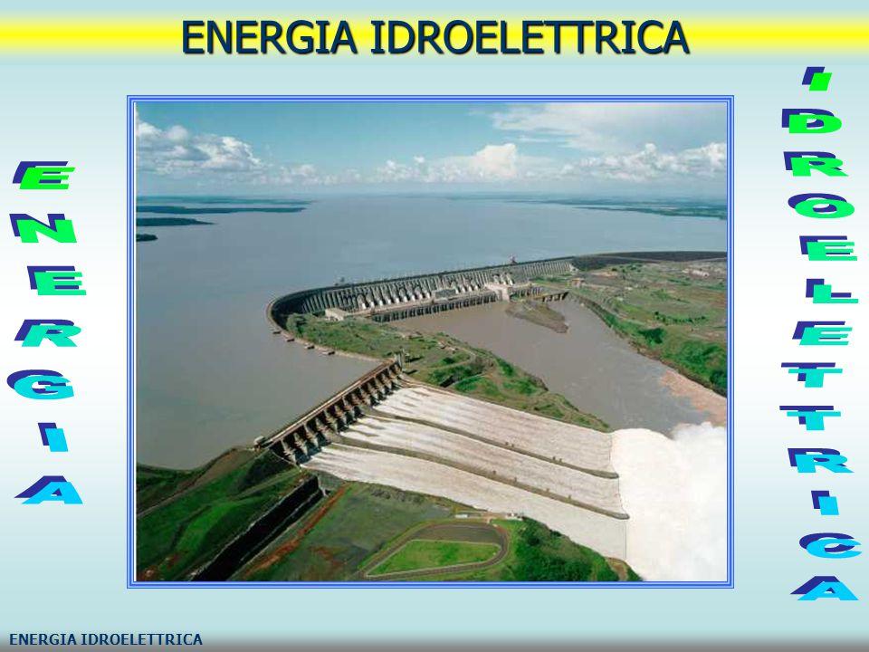 L energia idroelettrica viene generata sfruttando l energia dell acqua.