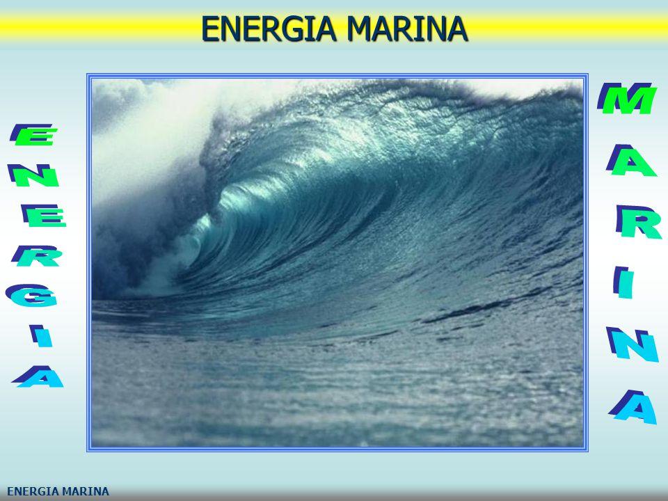 energia marinaenergia oceanicaenergia pelagica Con energia marina, energia oceanica o energia pelagica si intende l energia racchiusa in varie forme nei mari e negli oceani: Energia delle correnti marine, Energia a gradiente salino (osmotica), Energia mareomotrice (o delle maree), Energia del moto ondoso, Energia talassotermica (OTEC)