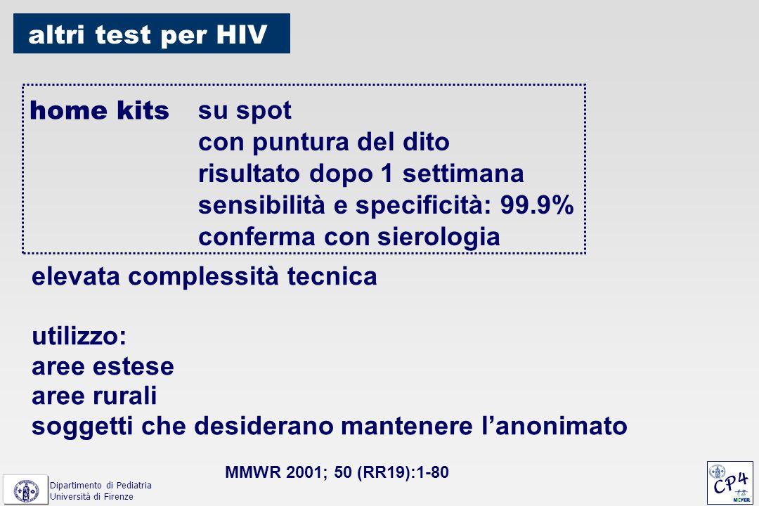 VIDAS HIV DUO: test di IV generazione di screening per p24 ed anticorpi anti-HIV-1 ed HIV-2 Weber B et al.