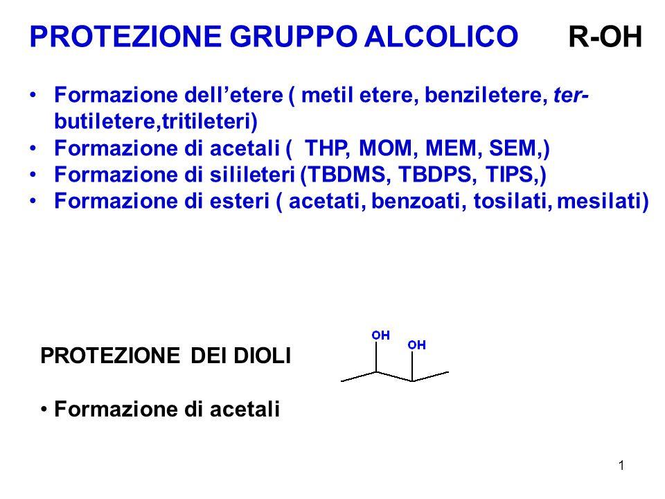 2 METIL ETERI INTRODUZIONE MeO 3 + BF 4 - è un potente agente alchilante utilizzato per metilare gruppi funzionali nucleofili forti e deboli come ammidi, lattami, solfuri, nitrocomposti, enoli, enolati, eteri, fenoli, solfossidi, etc.