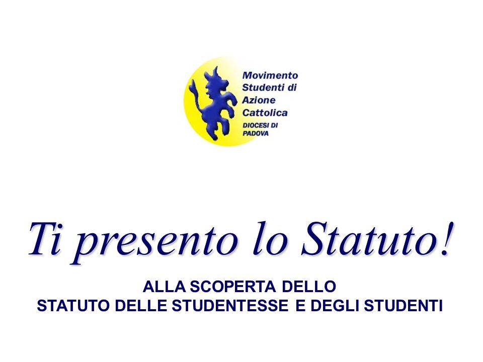 Statuto delle studentesse e degli studenti della Scuola Media Superiore D.P.R.