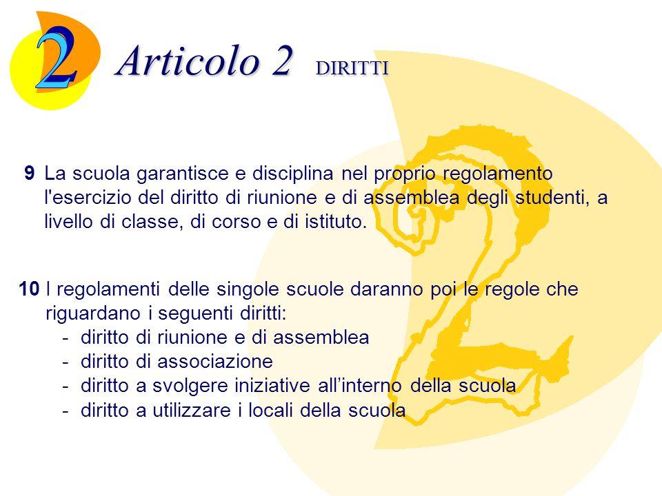 Articolo 3 DOVERI 1Gli studenti sono tenuti a frequentare regolarmente i corsi e ad assolvere assiduamente agli impegni di studio.