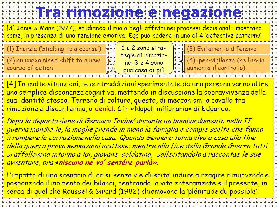 Covisco 2013 - 08 - Strategie diversive5 Come uscire da un doppio vincolo: disconferma Le strategie consuete di conferma o rifiuto di una situazione non consen- tono di uscire da un doppio vincolo.