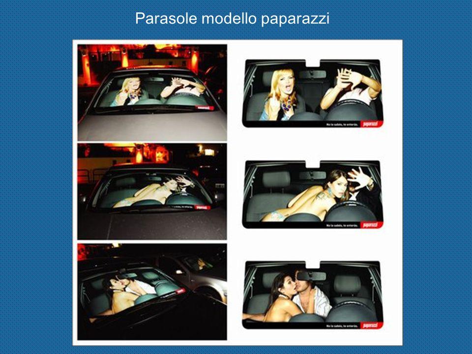 Parasole modello paparazzi