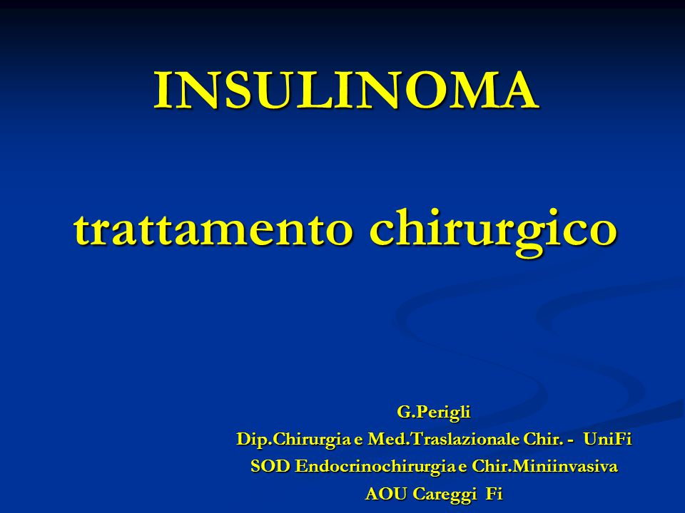 Tumori del Pancreas Endocrino TipoSedeOrmoneClinica INSULINOMAPancreasInsulinaIpoglicemia Neuroglicopenia Stimol.adrenergica GASTRINOMAPancreas –duodenoGastrinaMalattia peptica Diarrea steatorrea VIPomaPancreas-intestinoVIPDiarrea acquasa Ipokaliem.-acloridria GLUCAGONOMAPancreasGlucagoneIntoll.glucidica Erit.necrol.migrante Stomatite-glossite SOMATOSTATINOMADuodeno-pancreasSomatostatinaIperglicemia,diarrea Colelitiasi,sreatorrea T.