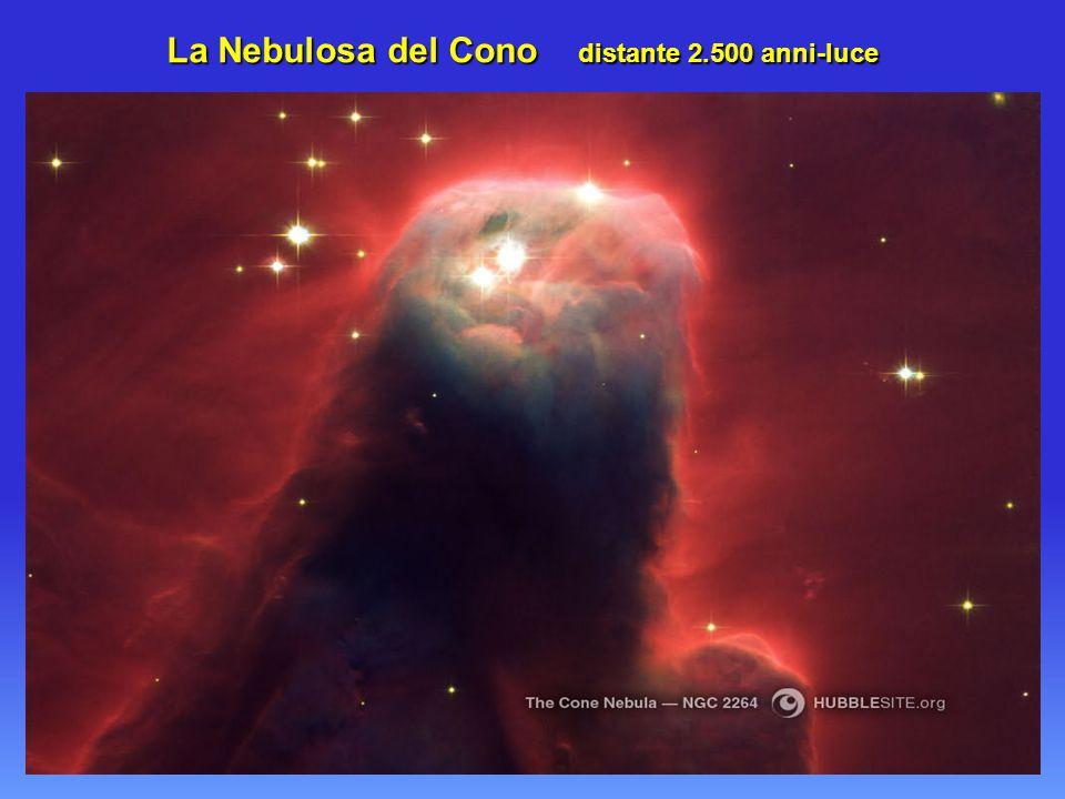 La Nebulosa del Cono distante 2.500 anni-luce La Nebulosa del Cono distante 2.500 anni-luce