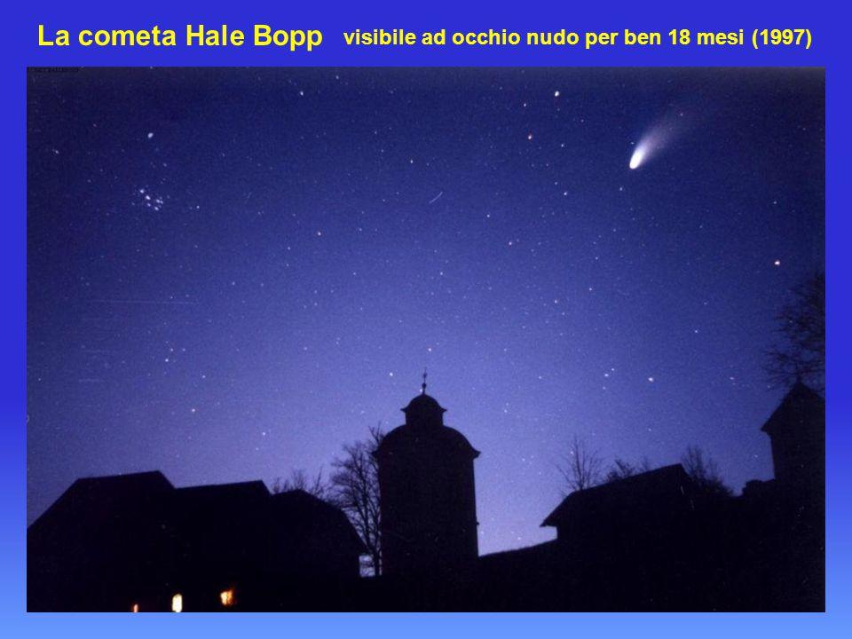 La cometa Hale Bopp visibile ad occhio nudo per ben 18 mesi (1997)