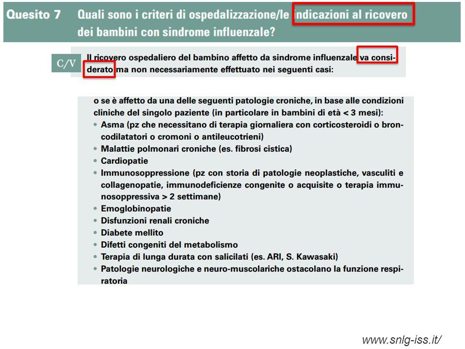 La composizione del bundle Implementazione di criteri clinici Reconsulting Delayed therapy Vaccinazione