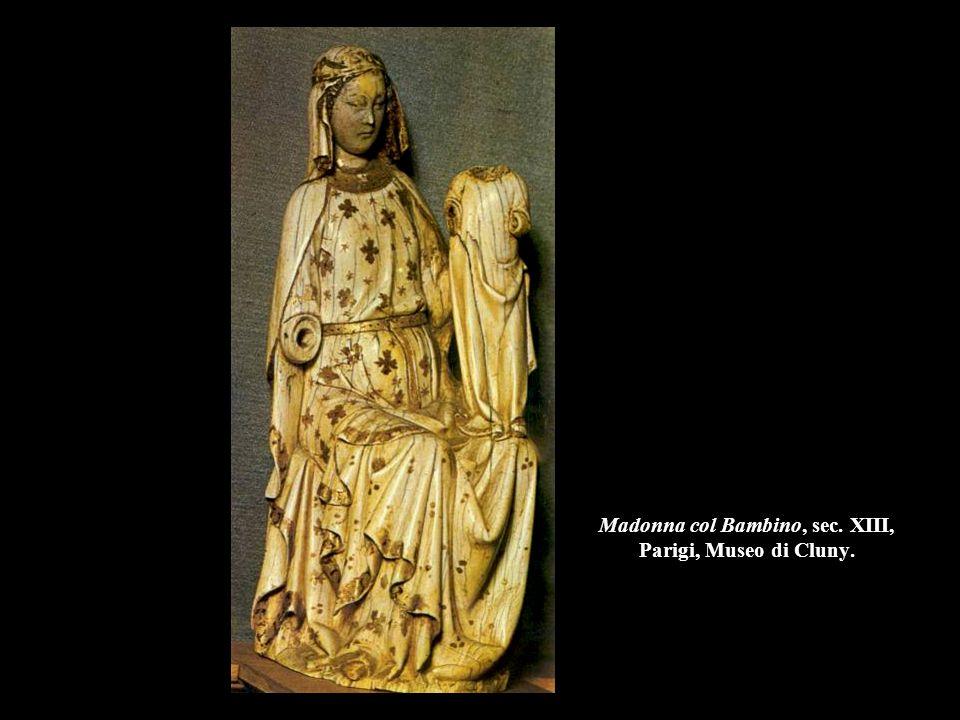 Madonna col Bambino, fine sec. XIII inizio XIV, Firenze, Museo Nazionale del Bargello.