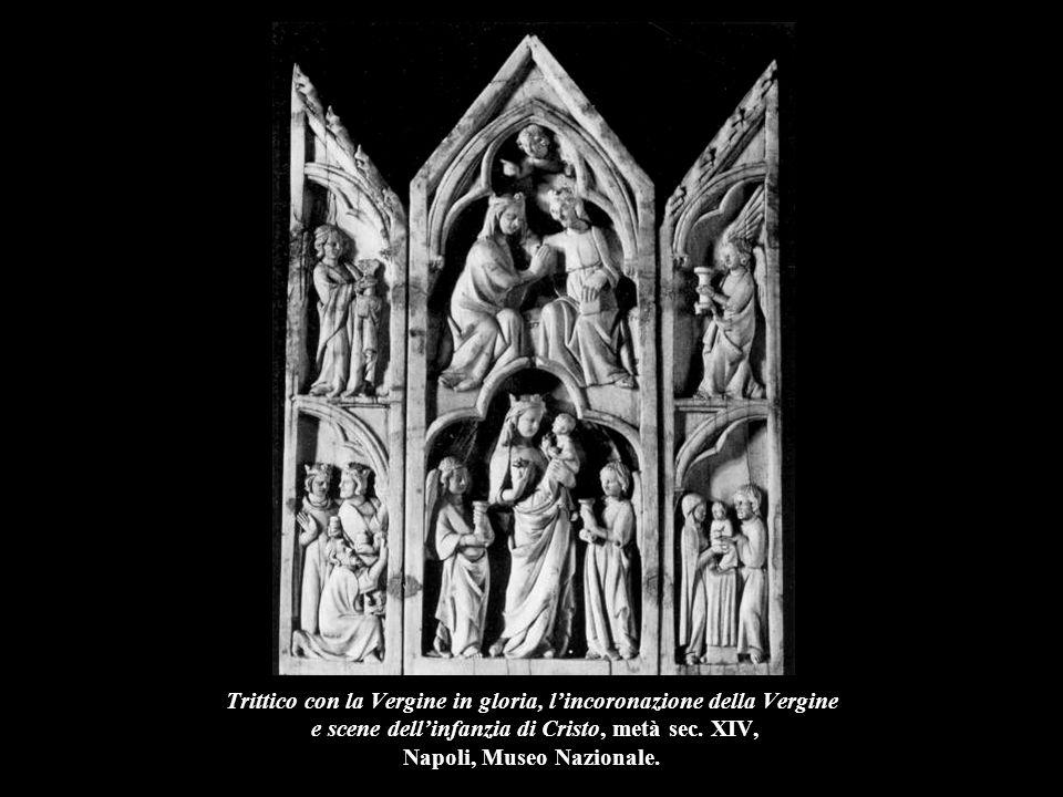 Polittico con la Vergine e il Bambino e scene della vita della Vergine e dell'infanzia di Cristo, metà sec.