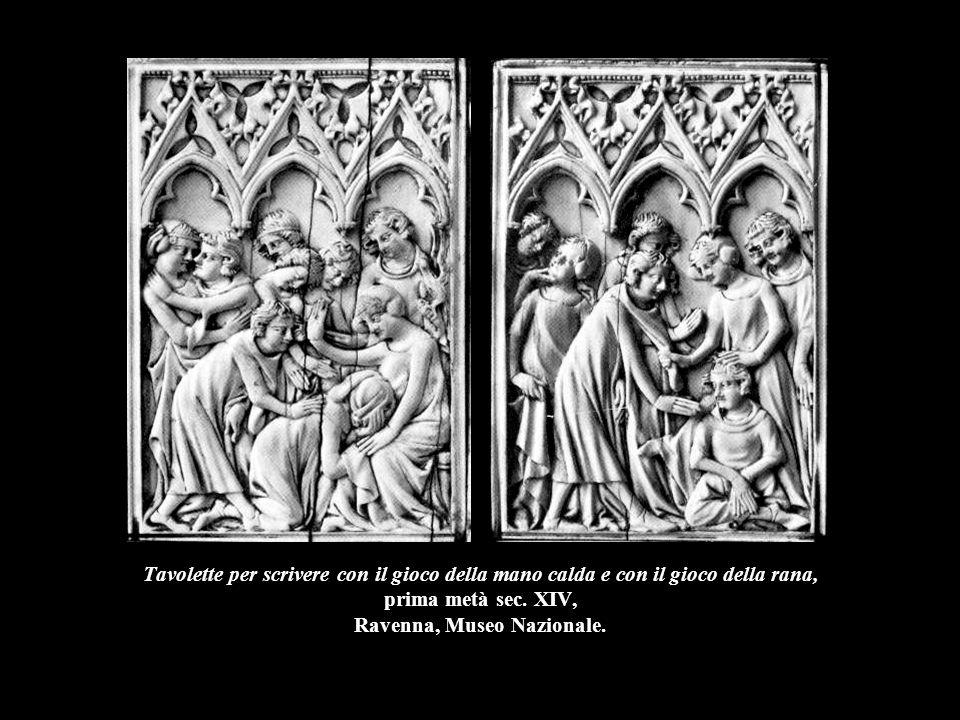 Cofanetto con soggetti romanzeschi e allegorici, prima metà sec.