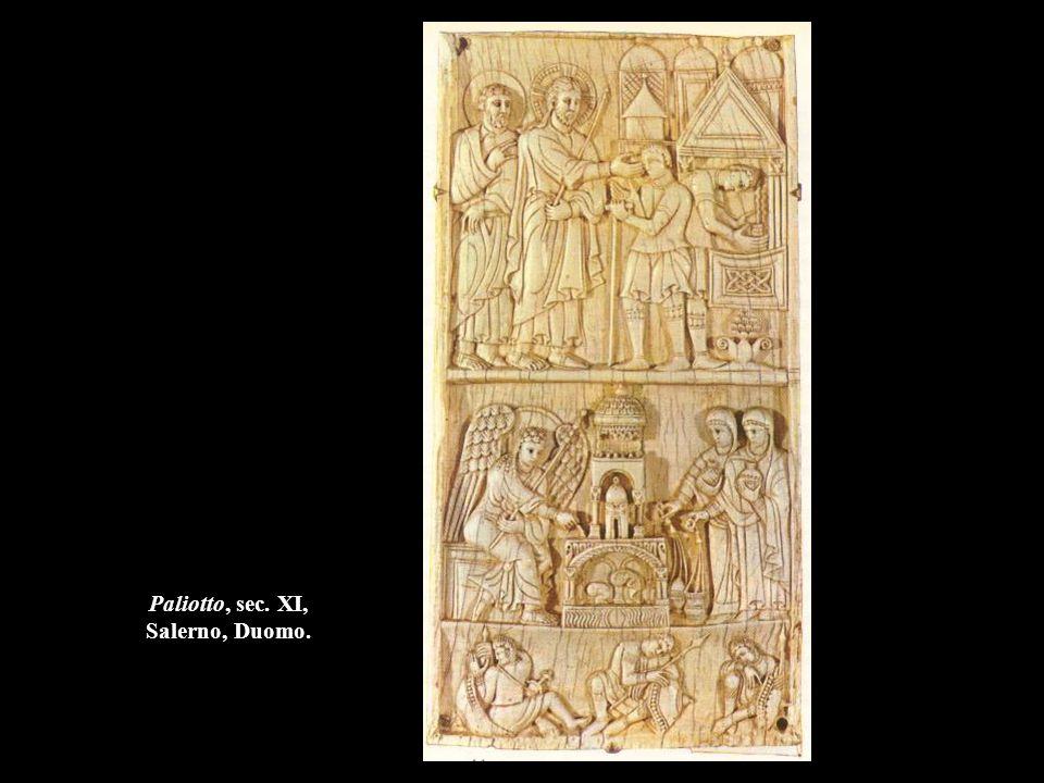 Paliotto, sec. XI, Salerno, Duomo