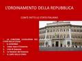 Le immunit parlamentari l organizzazione delle camere l for Composizione del parlamento italiano oggi