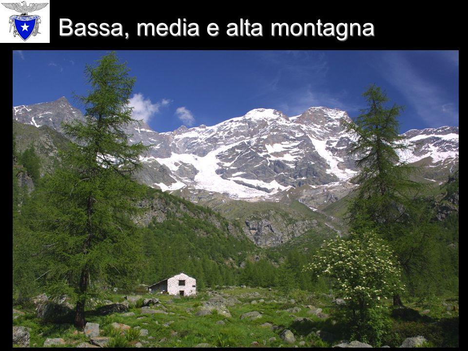 La bassa montagna può essere ricoperta da boschi di latifoglie… Bassa montagna