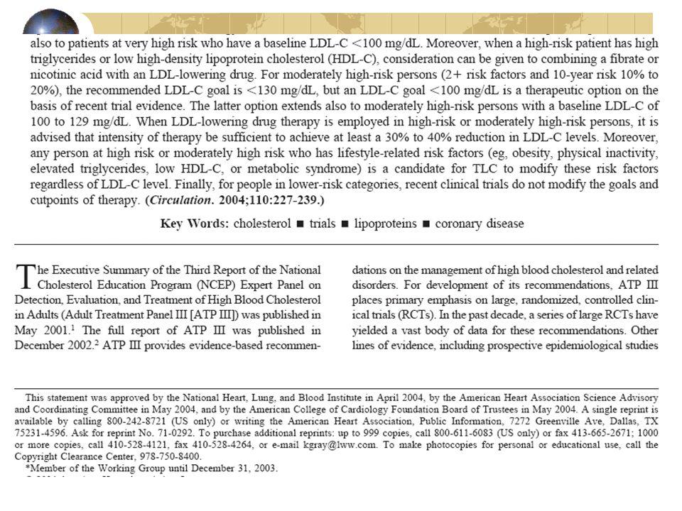 Vari Trias di dimensioni più o meno grandi, con molecole diverse, con pazienti a diverso rischio sono stati eseguiti di recente (EUROPA, HOPE, PEACE, QUASAR, QUO VADIS); i risultati ottenuti non mettono in evidenza un quadro chiarissimo sull'azione di questo tipo di farmaci nella cardiopatia ischemica L'HOPE (ramipril) e l'EUROPA (perindopril) hanno dimostrato una riduzione significativa del rischio (infarto, morte), circa del 20% a differenza di quanto è avvenuto nello studio PEACE.