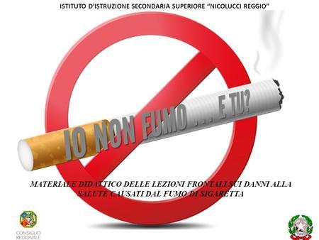 Lo stato su quello che ho smesso di fumare