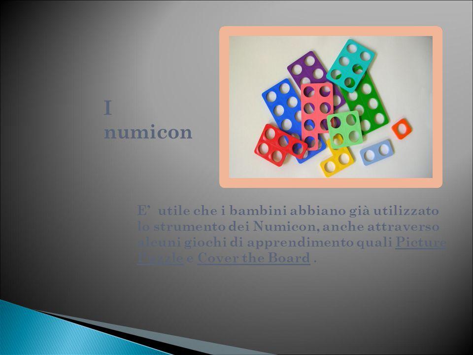 ATTIVITA' dell' INSEGNANTE IDEALIZZAZIONE DELL'ATTIVITA' L'insegnante ha scelto di approfondire l'argomento delle frazioni attraverso uno strumento già utilizzato dai suoi alunni: i Numicon.