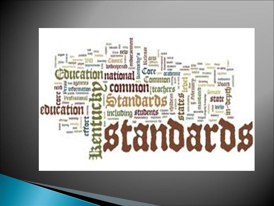 Il sistema scolastico AMERICANO si basa sui COMMON CORE STANDARS.